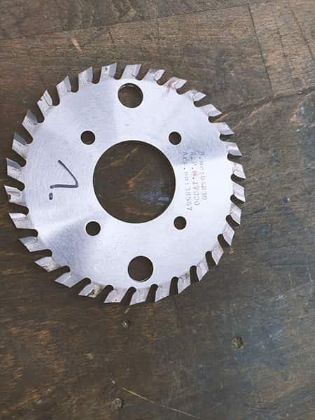 Milling cutter for Horizon Perfect Binder BQ260