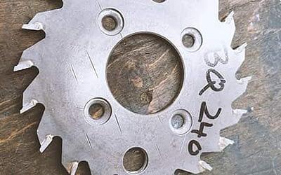 Milling cutter for Horizon Perfect Binder BQ240